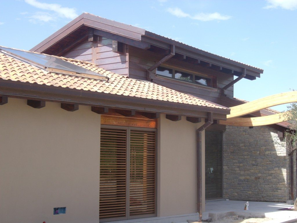 Elegant villa with facciate ville for Casa design top ponte di legno