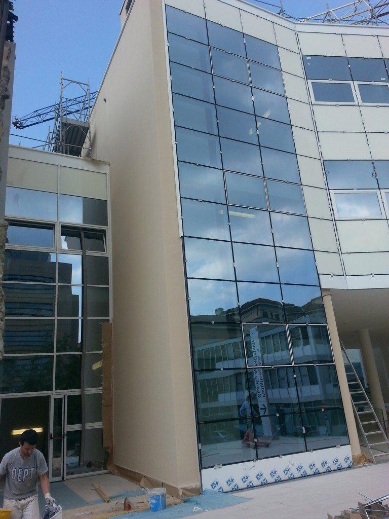 Biglia serramenti e facciate continue - Policlinico di Milano